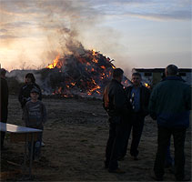 Traditions-/Osterfeuer - 2009